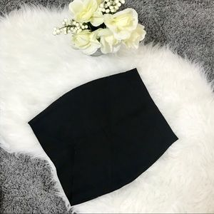 Hot Miami Styles Black Bandage Skirt